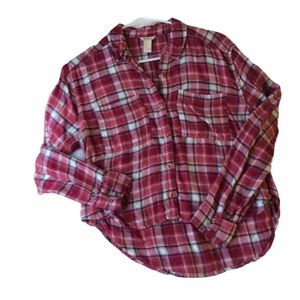F21 Slightly cropped flannel